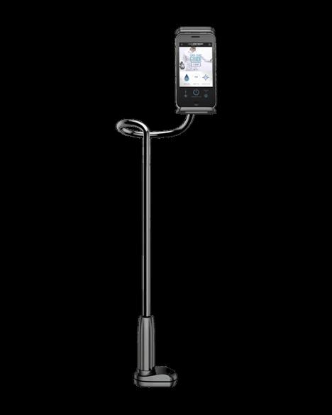 Mobile telephone holder